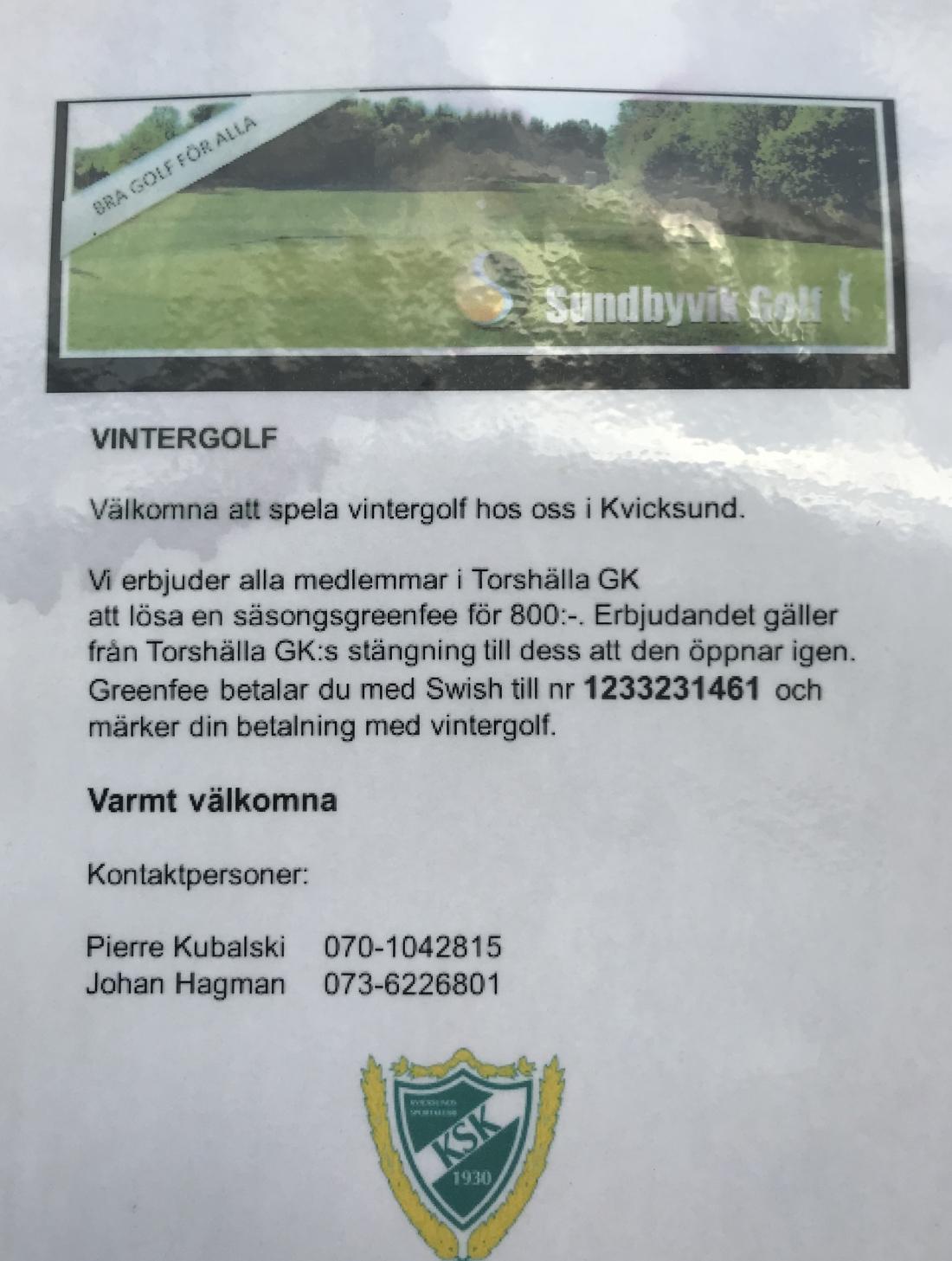 Vintergolf Sundbyvik